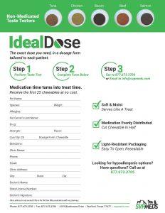 IdealDose order form