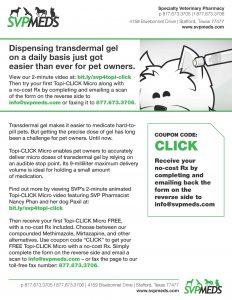 Topi Click TD Dispenser order form